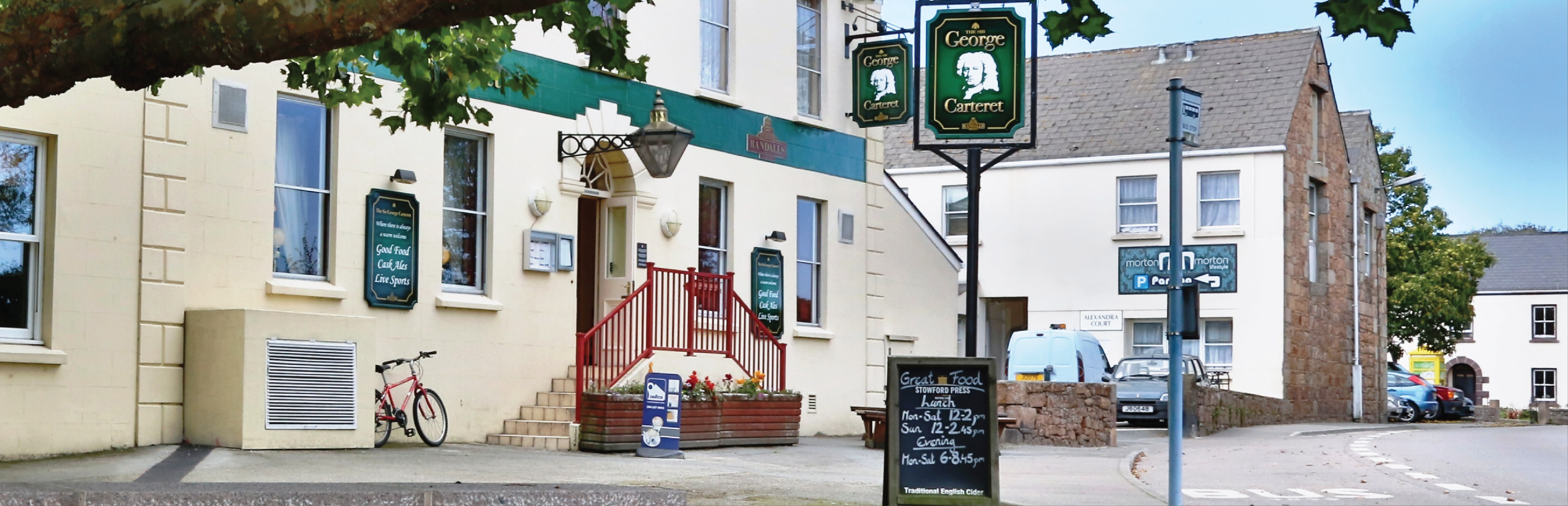 Randalls The Sir George Carteret Pub and Restaurant Jersey