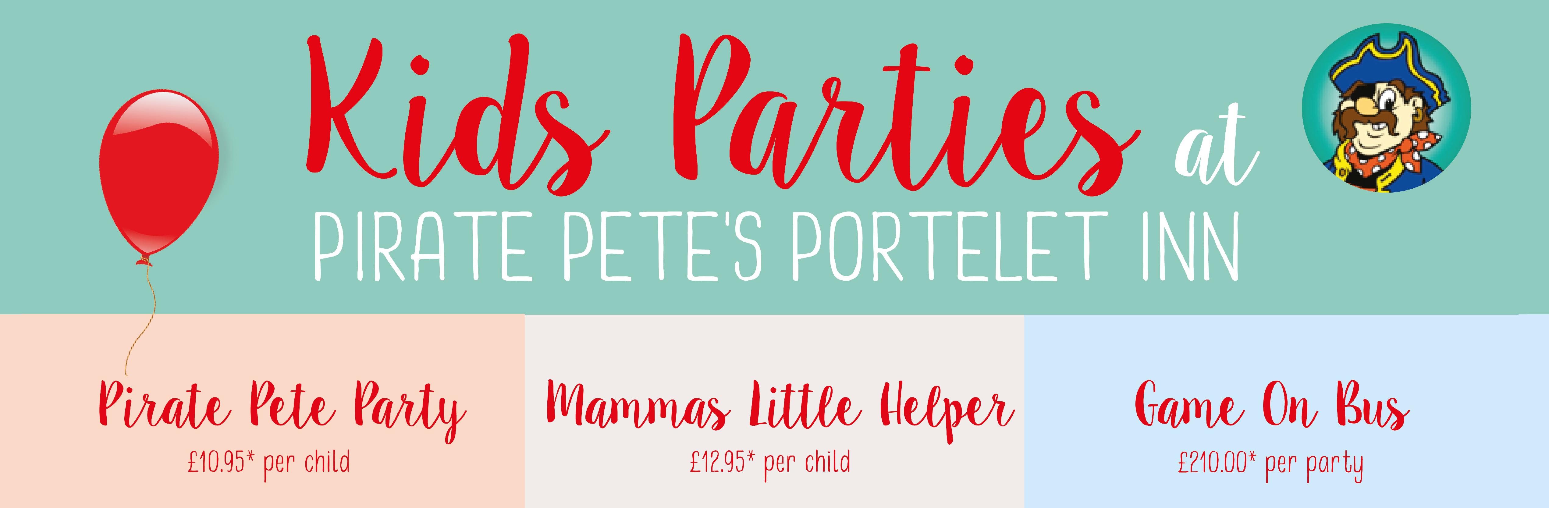 Pirate Pete's Kids Parties