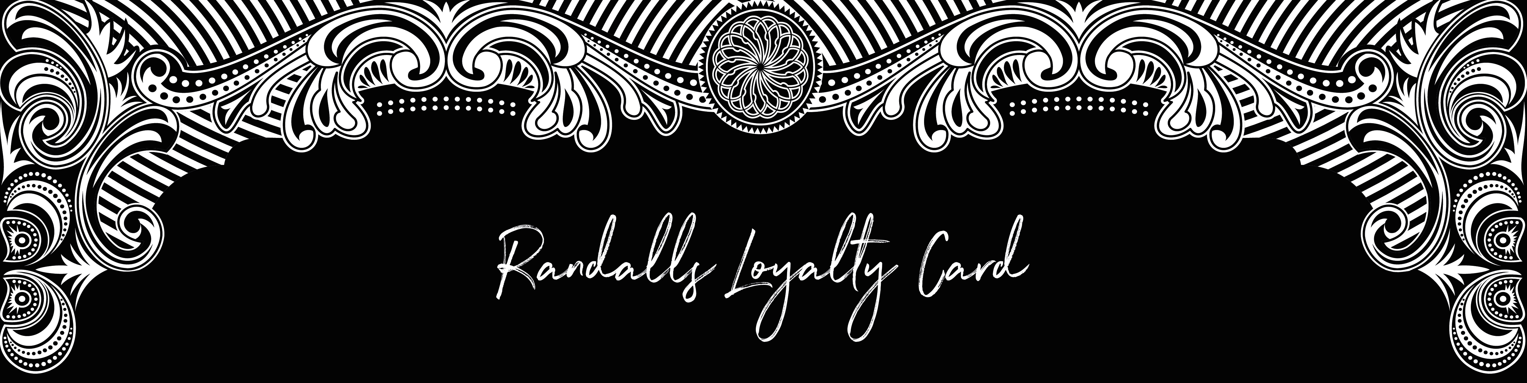 Randalls Loyalty Card