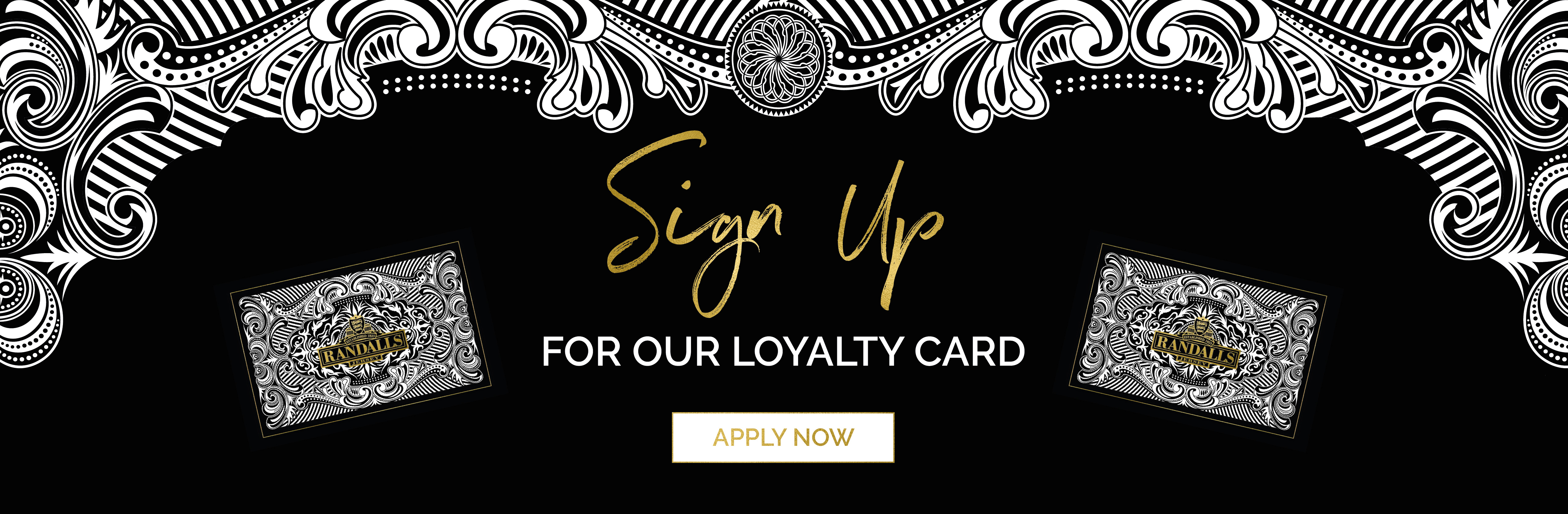 Randalls Loyalty Card - Sign Up Now