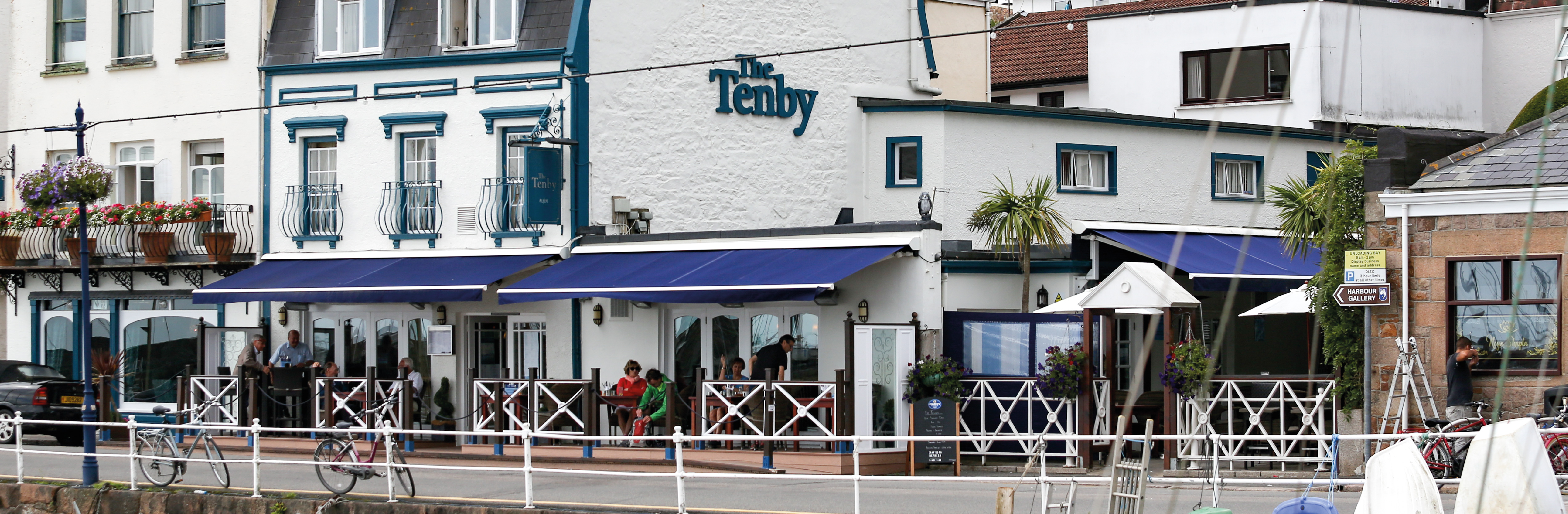 The Tenby Outside